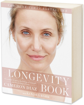 Book cover image: The Longevity Book The Science of Aging, the Biology of Strength, and the Privilege of Time