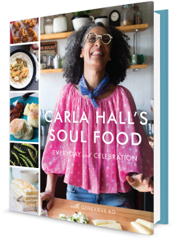 Book cover image: Carla Hall\'s Soul Food