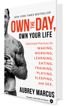 Book cover image: Own the Day, Own Your Life: Optimized Practices for Waking, Working, Learning, Eating, Training, Playing, Sleeping, and Sex   New York Times Bestseller