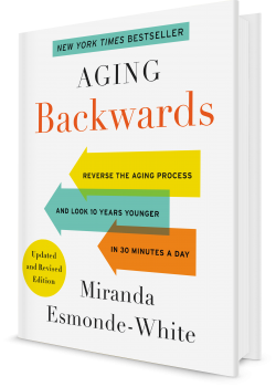Book cover image: Aging Backwards: Updated and Revised Edition
