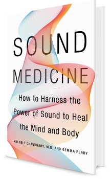 Book cover image: Sound Medicine: How to Harness the Power of Sound to Heal the Mind and Body