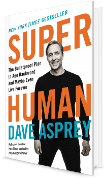Book cover image: Super Human: The Bulletproof Plan to Age Backward and Maybe Even Live Forever | New York Times Bestseller | USA Today Bestseller