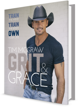 Book cover image: Grit & Grace: Train the Mind, Train the Body, Own Your Life